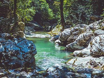 What Is In Alkaline Water water spring