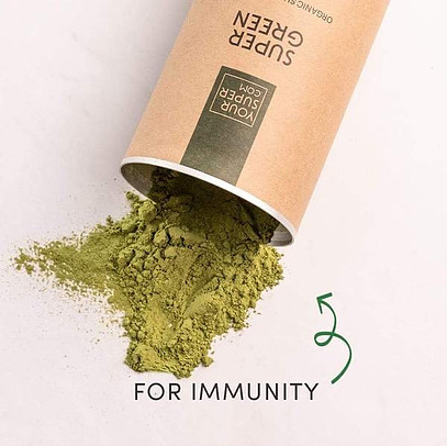 what is super greens powder - for immunity