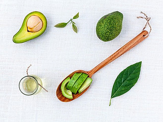 BEST PLANT BASED COLLAGEN POWDER - photo of avocado