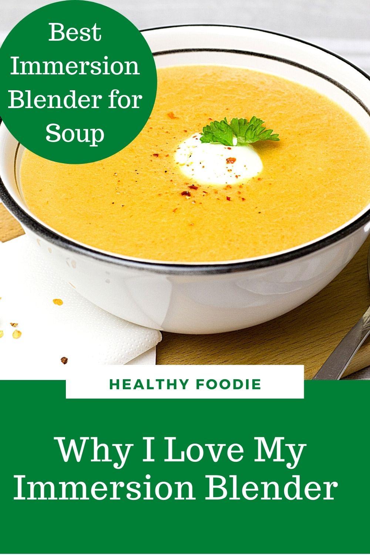 Best immersion blender for soup