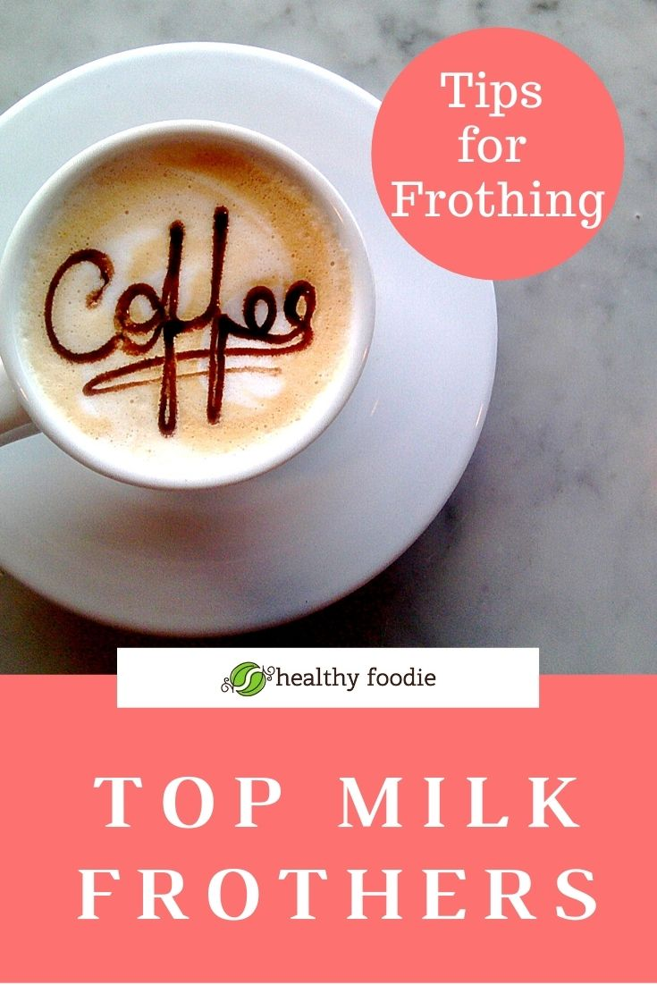 Electric Milk Frothers to Blend Protein Powder
