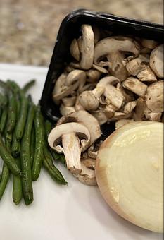 Green Bean Mushroom Saute