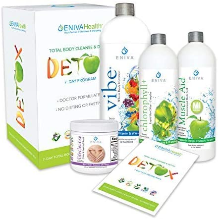 Best Detox Cleanses - Chlorophyll Detox and Cleanse 7 Day