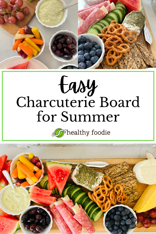 easy colorful charcuterie board